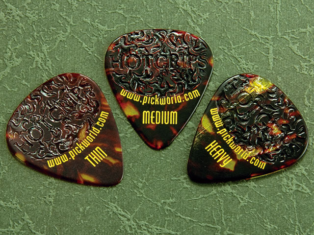 Pick World Hot Grips べっ甲